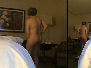 Masturbating in hotel window by MarieRocks