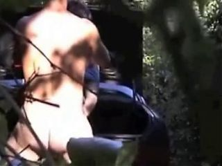 Voyeur outdoor sex