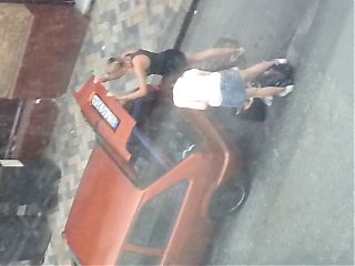 Sexy Girls unloading car