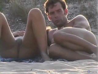 Spying on a nudist-beach