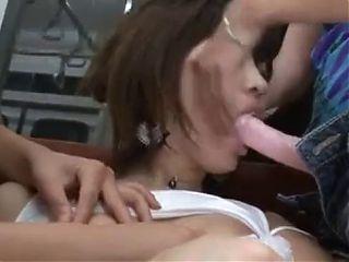 Lesbians grope girl in train (2)