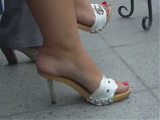 HOT legs feet and sandals