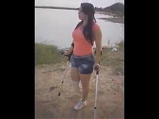 RBK amputee crutching