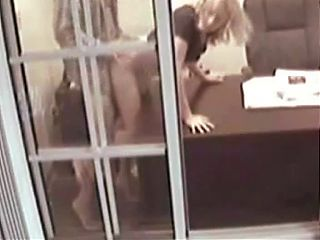 Office romp caught on tape