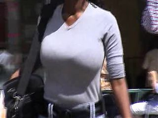 BEST OF BREAST - Busty Candid 01