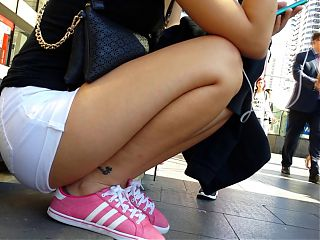 Bare Candid Legs - BCL#024