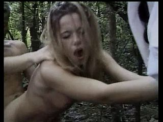 ghard fuck inside the forest