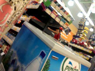 turkish upskirt at supermarket