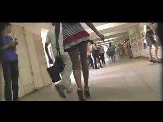 Upskirt On Fashion Model BVR